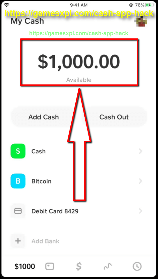 Cash App Hack Generator – How to Have $1000 Cash – iOS, Android