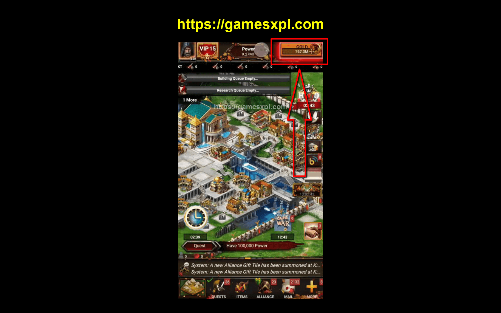 Game of War Fire Age Hack Mod Apk – How to Get Unlimited Gold – iOS, Android, Windows