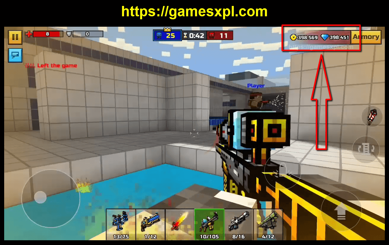 Pixel Gun 3D Hack Mod Apk Cheats – How to Get Unlimited Coins and Gems – iOS, Android, Windows