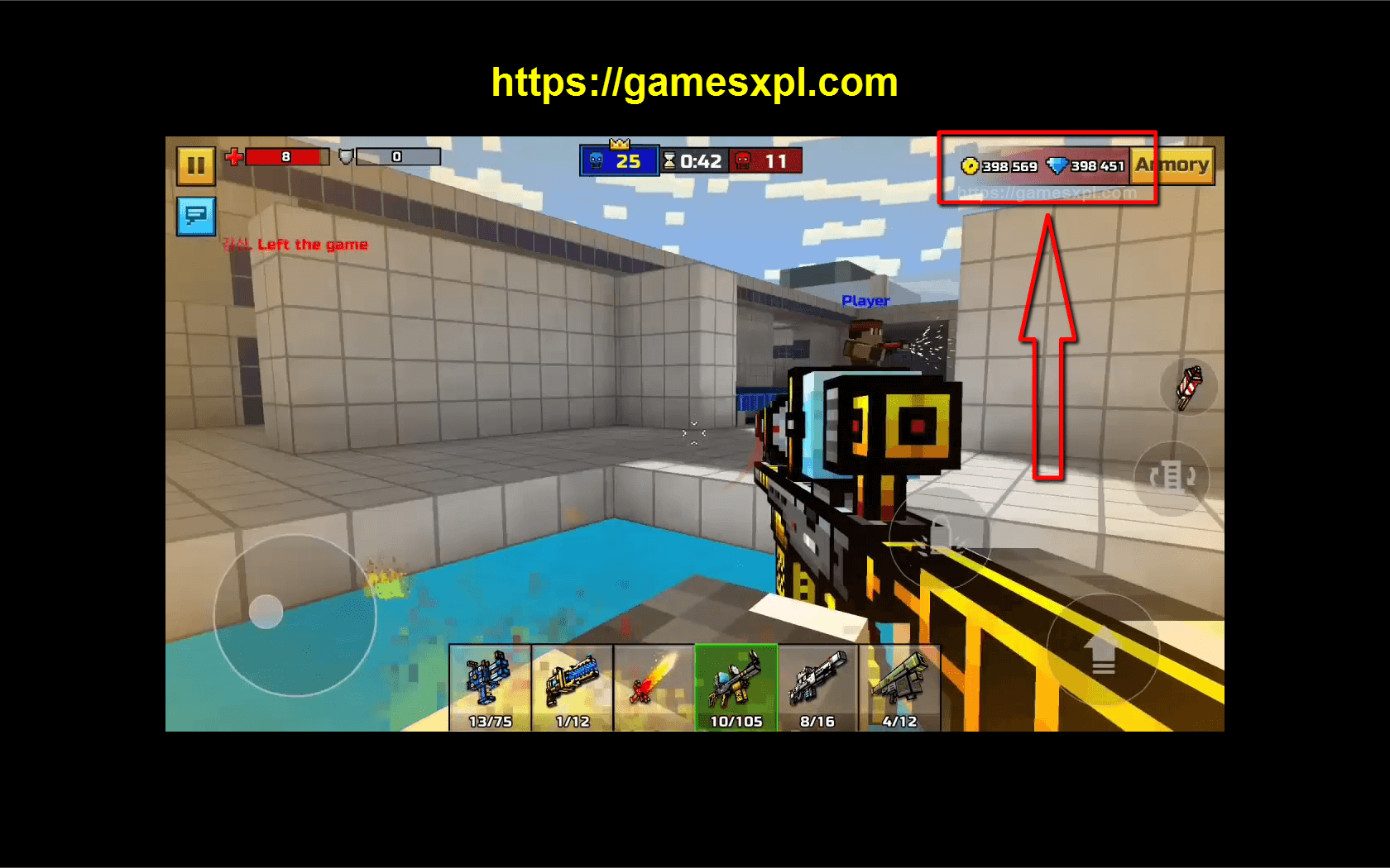 Pixel Gun 3D Hack Mod Apk-How to Get Unlimited Coins and Gems-iOS-Android-Windows