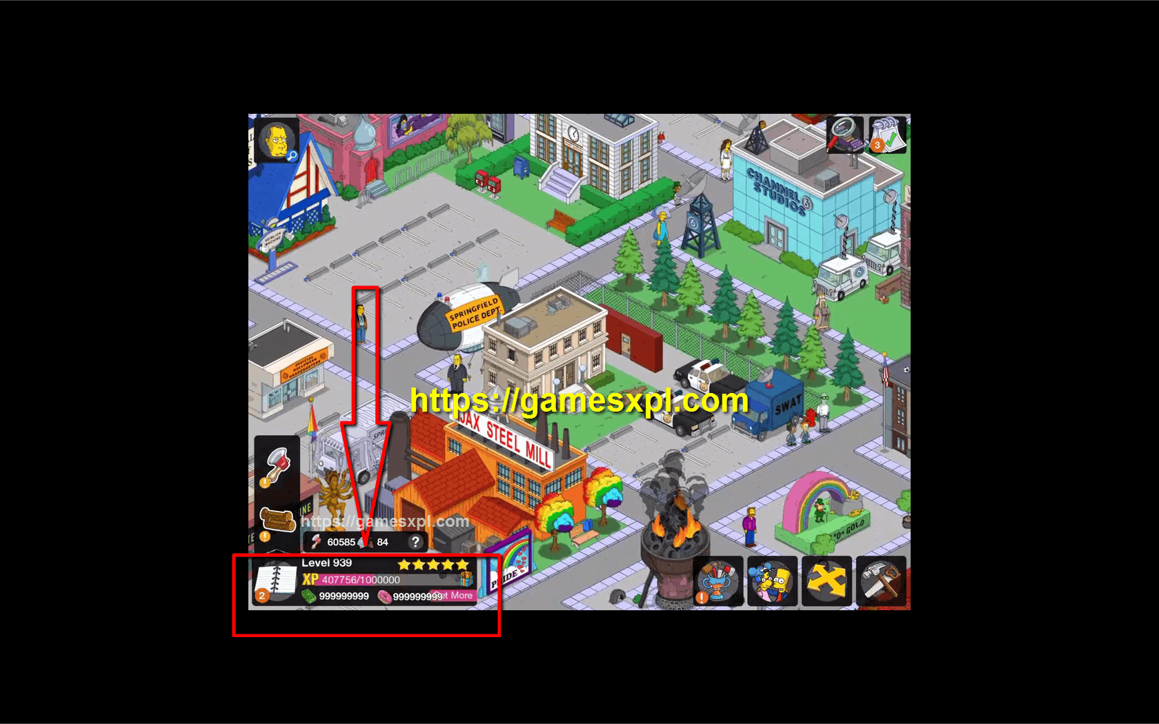 The Simpsons Tapped Out Hack Mod Apk-How to Get Unlimited Donuts and Money-iOS-Android-Windows